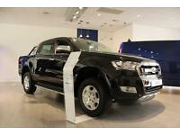 NEW Ford Ranger 3.2TDCi 200PS 4x4 Automatic Limited in Black + Sat Nav- Onsite