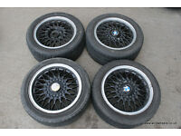 BMW E30 Original 15x7j BBS RZ 325i Sport Alloy Wheels & Tyres 320i 318is 4x100