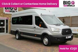 2017 FORD TRANSIT 460 TDCI 125 L4H3 TREND 17 SEAT BUS HIGH ROOF DRW RWD (13359)