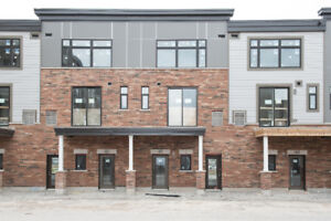 Lake view brand new Branthaven townhouse for rent!