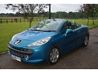 Peugeot 207 CC 1.6 16v 120 Coupe Sport Convertible 1 Owner