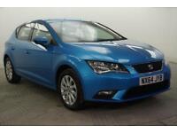 2014 SEAT Leon TSI SE DSG Petrol blue Semi Auto
