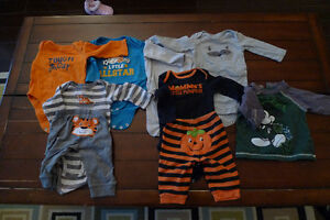 Huge lot of baby boy clothing - 6-9 months