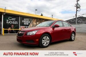 2012 Chevrolet Cruze LT CHEAP PAYMENTS LOW KMS INSTANT CREDIT
