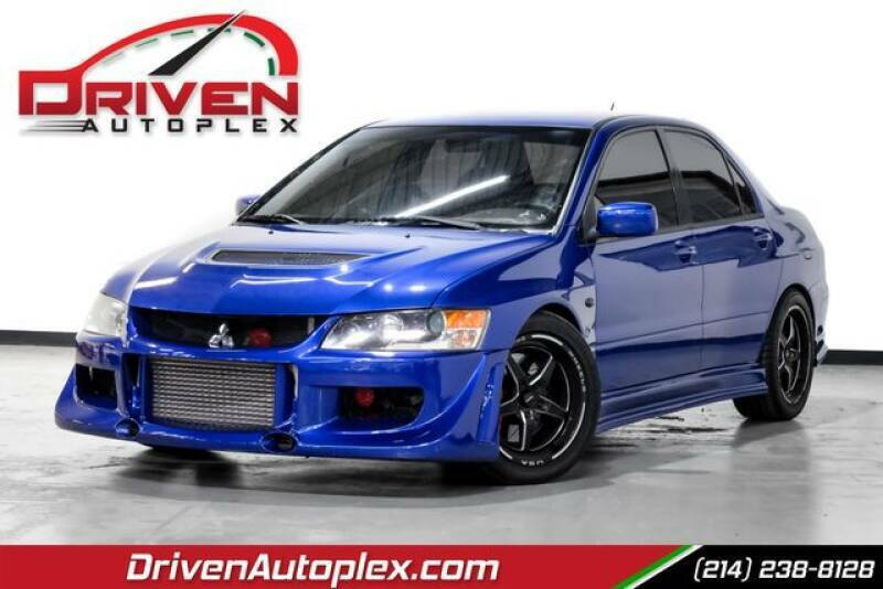 blue Mitsubishi Lancer Evolution with 95849 Miles available now!