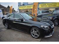 BAD CREDIT CAR FINANCE AVAILABLE 2015 15 MERCEDES C200CDi 134 BLUE TEC AMG LINE
