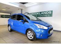 Ford B-Max 1.0T 100PS EcoBoost Zetec [2X SERVICES, DAB RADIO and ?30 ROAD TAX]