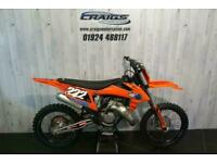 KTM 150 SX 2021 MOTOCROSS BIKE ONLY 28 HOURS USE IN STOCK AT CRAIGS MOTORCYCLES