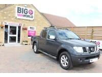 2009 NISSAN NAVARA OUTLAW DCI 169 4X4 DOUBLE CAB PICK UP DIESEL