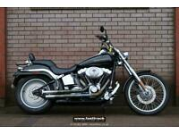 HARLEY DAVIDSON FXSTDI SOFTAIL DEUCE 2005 05 - CLEAN AND TIDY - AFTERMARKET BITS