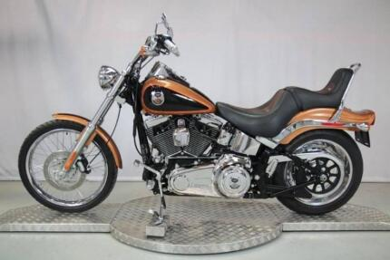 2008 Harley Softail Custom Anniversary front and rear fenders