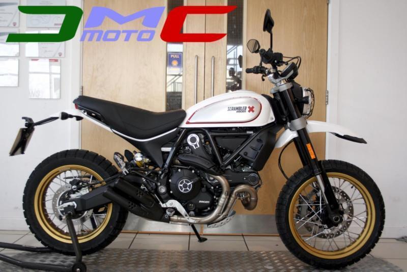 ***NEW*** 2017 Ducati Scrambler Desert Sled White | £105 pcm