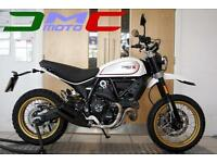 ***NEW*** 2017 Ducati Scrambler Desert Sled White | £89 pcm 3% APR