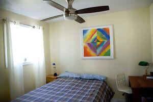 Chambre d'etudiant UQO Student bedroom