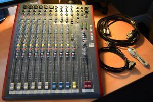 Console Mixer Allen and Heath ZED 12FX