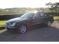Mercedes-Benz E55 AMG 5.4,Supercharged 4 door saloon,476BHP, very high spec