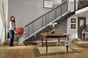 New Stairlifts only 2,295$ | Tax Free | Best Price Guaranteed | Only a few remaining - Call us Today 1-844-927-7482