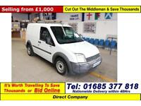 2006 - 56 - FORD TRANSIT CONNECT T220 L90 1.8TDCI VAN (GUIDE PRICE)