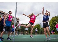 Social Netball Leagues - Join as an Individual