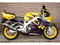 HONDA CBR900RR FIREBLADE CLASSIC COLLECTABLE SUPERSPORTS URBAN TIGER