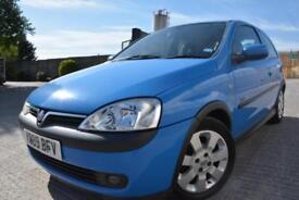 VAUXHALL CORSA SXI 1.2 16V 3 DOOR*LOW MILEAGE*FULL MOT*1 LADY OWNER SINCE 2002*