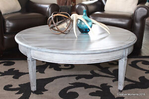 restoration hardware inspired coffee table