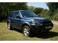 2006 2.0 TD4 LAND ROVER FREELANDER 3DR ADVENTURER 4x4 ESTATE LOW MILEAGE FSH