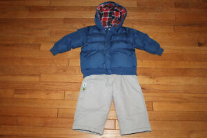 24months Children's Place jacket & BabybellCollection snowpants