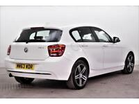 2014 BMW 1 Series 116D SPORT Diesel white Manual