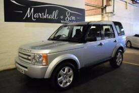 2009 09 LAND ROVER DISCOVERY 3 2.7 3 TDV6 GS 5D AUTO 188 BHP 7 SEATS DIESEL