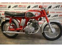 1969 Honda CD175 Sloper.