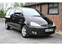 2006 FORD GALAXY 1.9 TDI GHIA.76000 MILES FULL SERVICE HISTORY. REAR DVD PLAYER