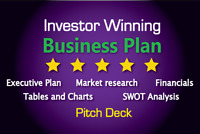 We Create Professional Business/Financial Plans & Proposals