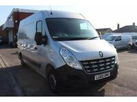 2010 Renault Master MM33dCi 100 Medium Roof Van Euro 4 Diesel silver Manual