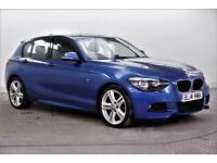 2014 BMW 1 Series 118D M SPORT Diesel blue Automatic