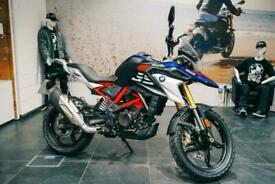 BMW G310 GS with Rallye Style Pack