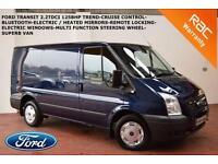 12 Ford Transit 2.2TDCi (125PS)EUR5(Low Roof)SWB Trend-FRIDGE VAN-B.TOOTH-CRUISE
