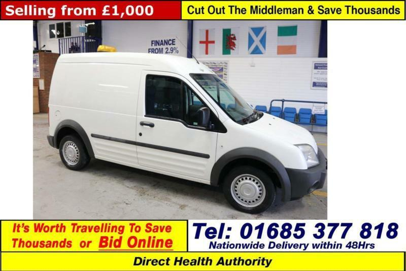 bb2c2af2f8 2003 - 53 - FORD TRANSIT CONNECT 1.8TDCI LWB HITOP VAN (GUIDE PRICE)