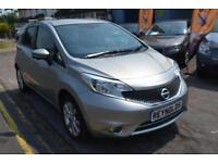 2014 14 NISSAN NOTE 1.2 TEKNA AUTOMATIC GOOD AND BAD CREDIT CAR FINANCE AVAILABL