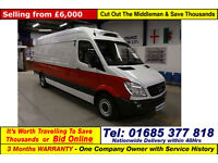 2010 - 60 - MERCEDES SPRINTER 313 2.2CDI HUBBARD SYSTEM LWB HI TOP FRIDGE VAN