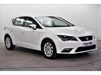 2015 SEAT Leon TDI SE TECHNOLOGY Diesel white Manual