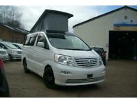 2005 TOYOTA ALPHARD CAMPER VAN,MOTORHOME, 4 BERTH~POP ROOF~REAR KITCHEN~ULEZ
