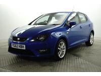 2012 SEAT Ibiza TSI FR DSG Petrol blue Semi Auto