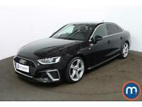 2020 Audi A4 35 TFSI S Line 4dr S Tronic Auto Saloon Petrol Automatic