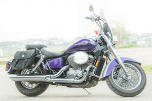 Beautiful American Classic Honda Shadow