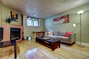 Appartement meublé 31/2 - Village - Internet & Hydro inclus