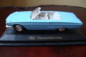 auto miniature FORD THUNDERBIRD (1966) Blue