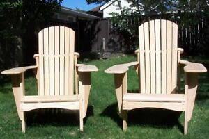 Handcrafted Cedar Adirondack Chairs