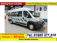 2009 - 09 - CITROEN RELAY 2.2HDI 5 SEAT DISABLED ACCESS PTS MINIBUS GUIDE PRICE