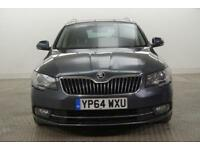 2014 Skoda Superb SE BUSINESS TDI CR Diesel grey Manual